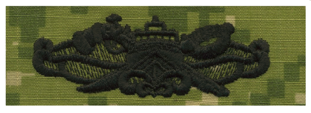 Vanguard NAVY EMBROIDERED BADGE: S.W.C.C. (OLD STYLE) - WOODLAND DIGITAL