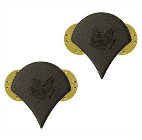Vanguard ARMY CHEVRON: SPECIALIST 4 - BLACK METAL