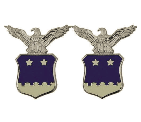 Vanguard AIR FORCE COLLAR DEVICE: AIDE TO THE MAJOR GENERAL