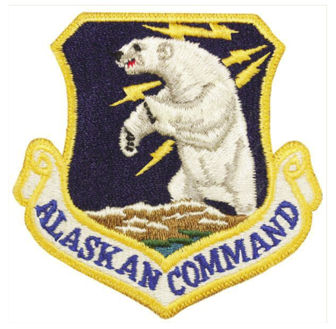 Vanguard AIR FORCE PATCH: ALASKAN COMMAND - COLOR