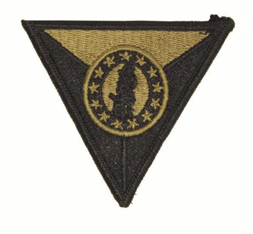 Vanguard ARMY PATCH: NATIONAL GUARD TRAINING CENTER GARRISON COMMAND OCP UNIFORM