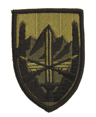 Vanguard ARMY PATCH: U.S. FORCES AFGHANISTAN - EMBROIDERED ON OCP