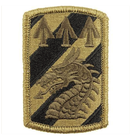 Vanguard ARMY PATCH: 3RD SUSTAINMENT BRIGADE - EMBROIDERED ON OCP