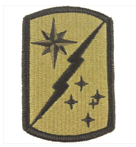 Vanguard ARMY PATCH: 45TH SUSTAINMENT BRIGADE - EMBROIDERED ON OCP