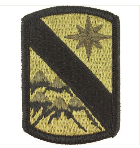 Vanguard ARMY PATCH: 43RD SUSTAINMENT BRIGADE - EMBROIDERED ON OCP