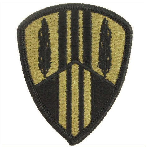 Vanguard ARMY PATCH: 369TH SUSTAINMENT BRIGADE - EMBROIDERED ON OCP