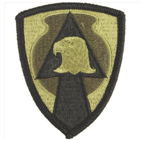 Vanguard ARMY PATCH: 734TH SUPPORT GROUP - EMBROIDERED ON OCP