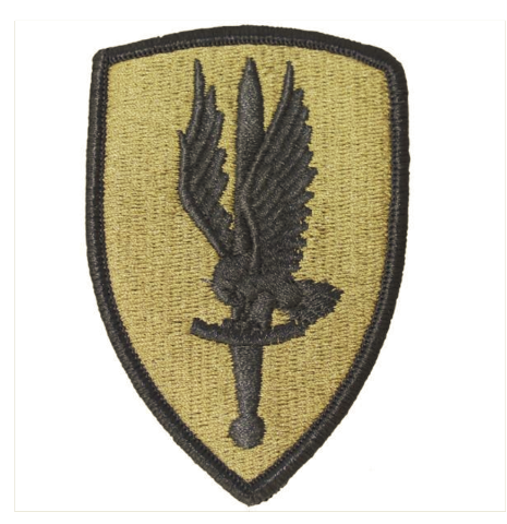 Vanguard ARMY PATCH: FIRST AVIATION BRIGADE - EMBROIDERED ON OCP