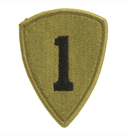 Vanguard ARMY PATCH: FIRST PERSONNEL COMMAND - EMBROIDERED ON OCP