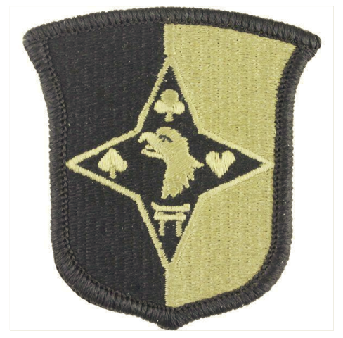 Vanguard ARMY PATCH: 101ST SUSTAINEMENT BRIGADE - EMBROIDERED ON OCP