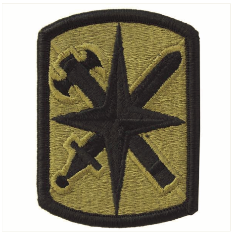 Vanguard ARMY PATCH: 14TH MILITARY POLICE BRIGADE - EMBROIDERED ON OCP