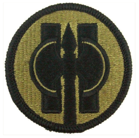 Vanguard ARMY PATCH: 11TH MILITARY POLICE - EMBROIDERED ON OCP