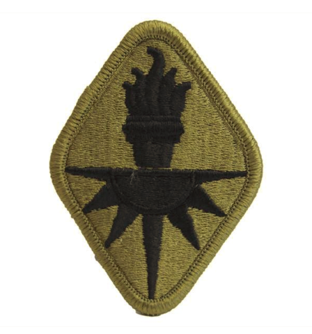 Vanguard ARMY PATCH: MILITARY INTELLIGENCE SCHOOL CENTER - EMBROIDERED ON OCP