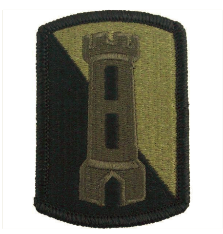 Vanguard ARMY PATCH: 168TH ENGINEER BRIGADE - EMBROIDERED ON OCP