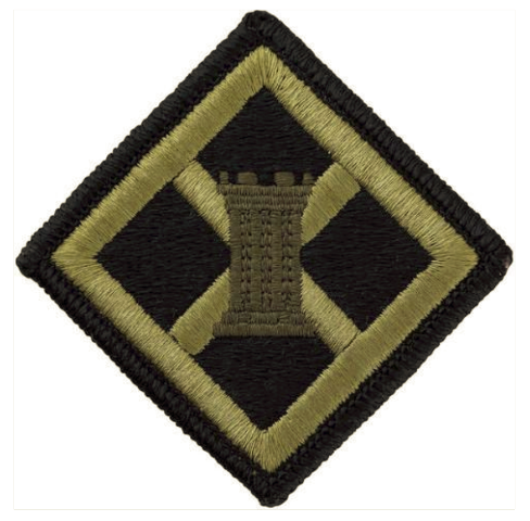 Vanguard ARMY PATCH: 926TH ENGINEER BRIGADE - EMBROIDERED ON OCP