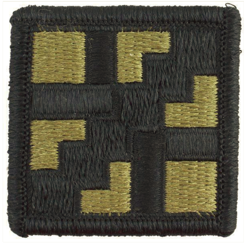 Vanguard ARMY PATCH: 411TH ENGINEER BRIGADE - EMBROIDERED ON OCP