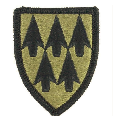 Vanguard ARMY PATCH: 32ND AIR DEFENSE COMMAND - EMBROIDERED ON OCP