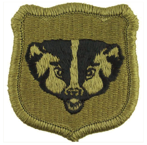 Vanguard ARMY PATCH: WISCONSIN NATIONAL GUARD - EMBROIDERED ON OCP