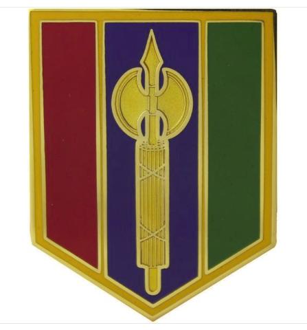 Vanguard ARMY COMBAT SERVICE ID BADGE 302ND MANEUVER ENHANCEMENT BRIGADE