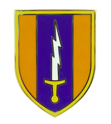 Vanguard ARMY COMBAT SERVICE IDENTIFICATION BADGE (CSIB): 1ST SIGNAL BRIGADE