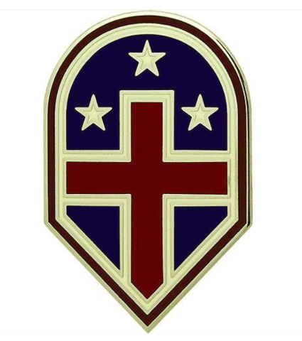 Vanguard ARMY COMBAT SERVICE IDENTIFICATION BADGE (CSIB): 332ND MEDICAL BRIGADE