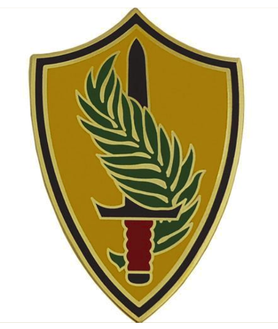 Vanguard ARMY COMBAT SERVICE IDENTIFICATION ARMY ELEMENT U.S. CENTRAL COMMAND