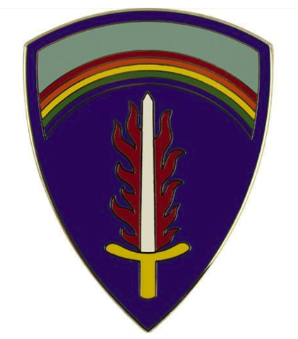 Vanguard ARMY COMBAT SERVICE IDENTIFICATION BADGE CSIB UNITED STATES ARMY EUROPE