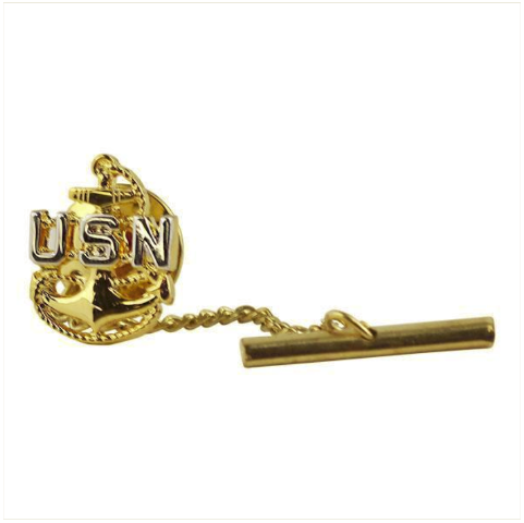 Vanguard NAVY TIE TAC: E7 CHIEF PETTY OFFICER