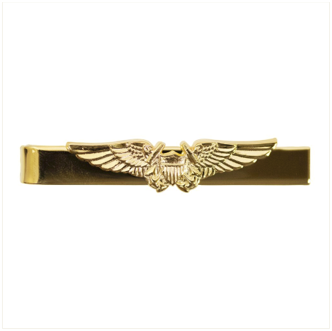 Vanguard NAVY TIE CLASP: NAVAL FLIGHT OFFICER