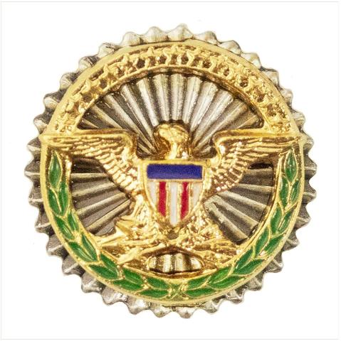 Vanguard LAPEL PIN: SECRETARY OF DEFENSE