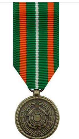 Vanguard (Mini) Miniature US Coast Guard Achievement Military Medal Award