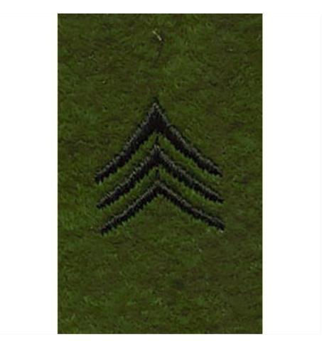 Vanguard ARMY LEADERSHIP RANK TAB: SERGEANT