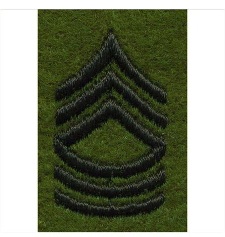 Vanguard ARMY LEADERSHIP RANK TAB: MASTER SERGEANT