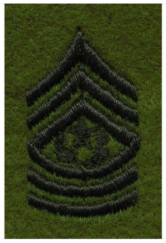 Vanguard ARMY LEADERSHIP RANK TAB: COMMAND SERGEANT MAJOR