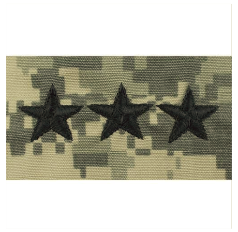 Vanguard ARMY EMBROIDERED ACU CAP RANK: LIEUTENANT GENERAL