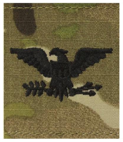 Vanguard ARMY GORTEX RANK: COLONEL - OCP JACKET TAB