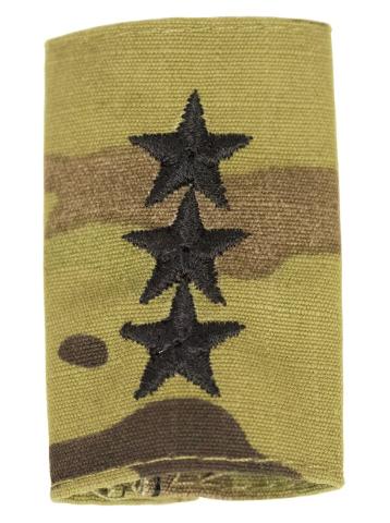 Vanguard ARMY GORTEX RANK: LIEUTENANT GENERAL - OCP JACKET TAB
