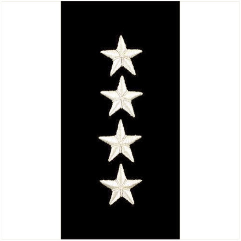 Vanguard MARINE CORPS EMBROIDERED RANK: GENERAL