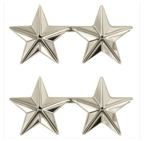 "Vanguard STARS: NICKEL PLATED 1"""