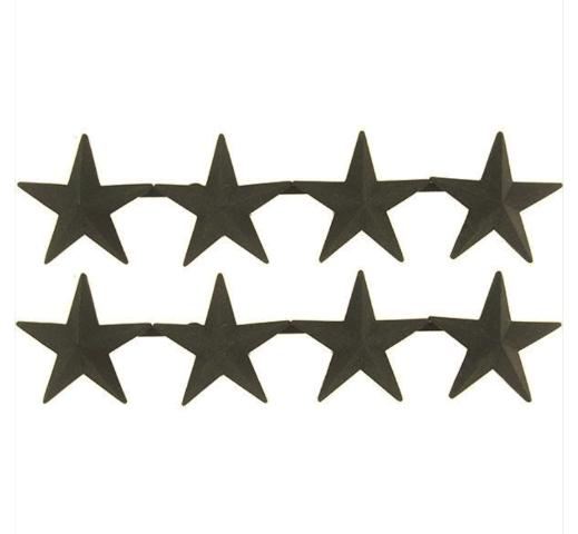 Vanguard OFFICER STARS: BLACK METAL