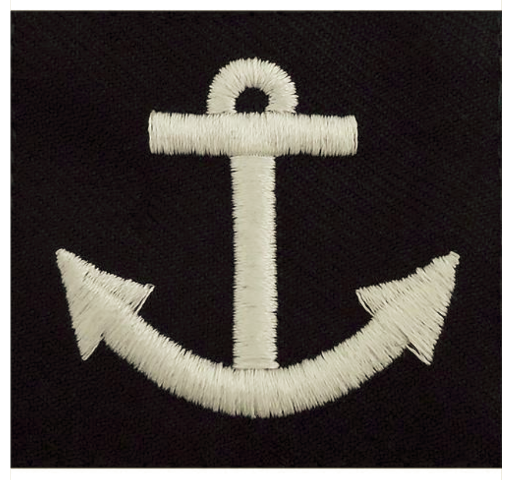 Vanguard NAVY RATING BADGE: SEAMAN APPRENTICE - SERGE BLUE FOR DRESS UNIFORMS