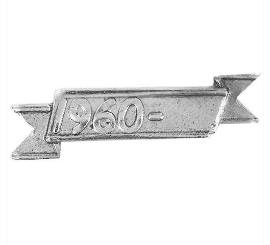 Vanguard FULL SIZE:  1960 DATE BAR FOR THE REPUBLIC OF VIETNAM CAMPAIGN AWARD