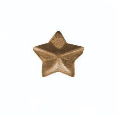 Vanguard NO PRONG MINIATURE MEDAL ATTACHMENT: 1/8 INCH BRONZE STAR