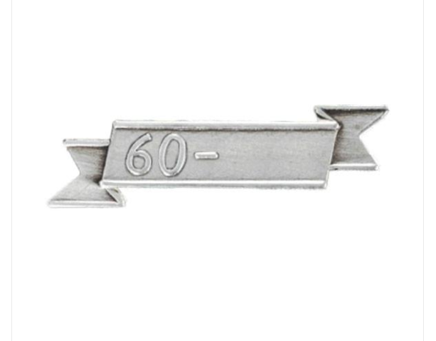 Vanguard NO PRONG 60 DATE BAR FOR THE REPUBLIC OF VIETNAM CAMPAIGN AWARD