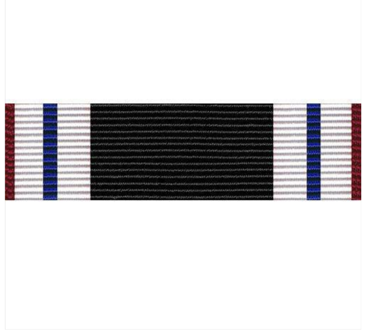 Vanguard Ribbon unit for the Prisoner of War award (Individually priced)