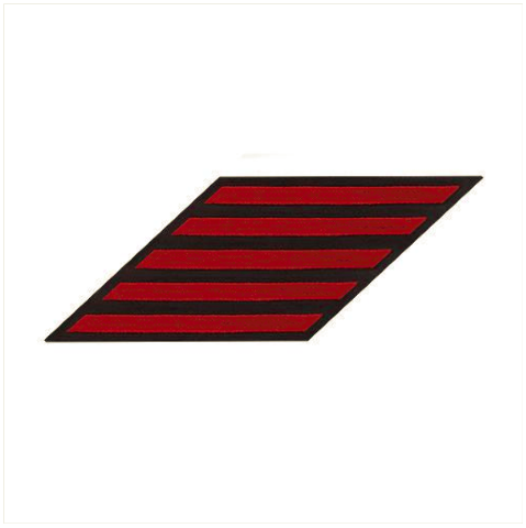 Vanguard NAVY ENLISTED HASH MARKS: RED ON BLUE - FEMALE, SET OF 5