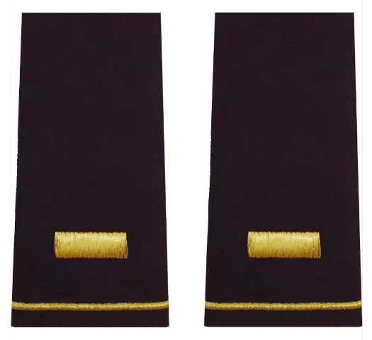 Vanguard ARMY EPAULET: SECOND LIEUTENANT - LARGE