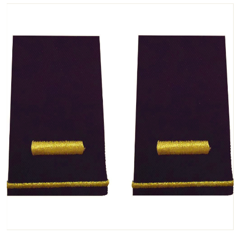 Vanguard ARMY EPAULET: SECOND LIEUTENANT - SMALL