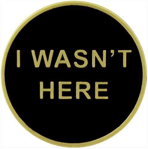 Vanguard BLACK OPS: I WASN'T HERE COIN