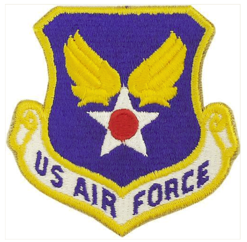 Vanguard AIR FORCE PATCH: U.S. AIR FORCE - COLOR